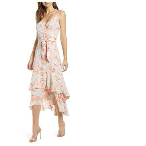 NWT Leith floral dress